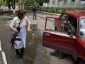 День в фото: бои в Славянске и прощание с погибшими в Одессе