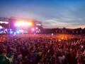 На рок-фестивале под Днепром из-за урагана обрушилась крыша сцены