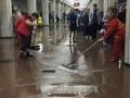 В Харькове затопило станцию метро Холодная гора
