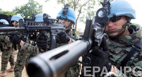 Украина должна согласовать с партнерами текст резолюции по миротворцам