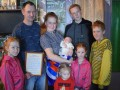 В РФ многодетная семья назвала ребенка Россией