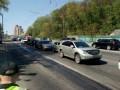 7 автомобилей столкнулись в Киеве