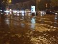 Стена из дождя и града: На Полтаву обрушился сильный ливень