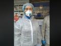 Денисова проверяет Лукьяновское СИЗО на предмет противодействия COVID-19