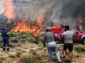 Пожары в Греции: число жертв приближается к сотне