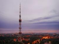 В Киевскую телевышку 5 раз ударила молния
