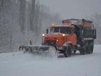 Ситуация на дорогах: снег и гололедица