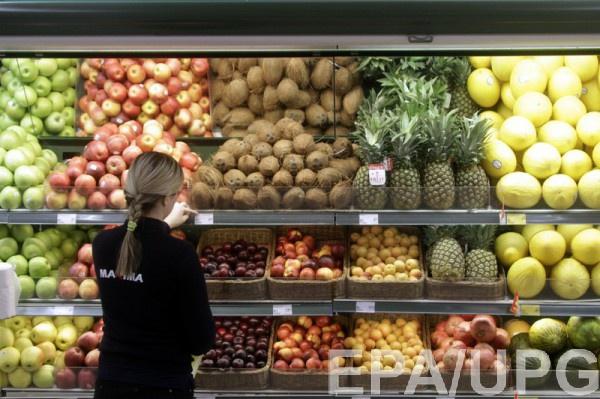 В украинских магазинах нет дефицита продуктов питания - Минэкономики
