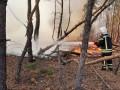 На Луганщине ликвидировали восемь очагов пожаров