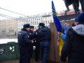 В Санкт-Петербурге напали на мужчину с украинским флагом