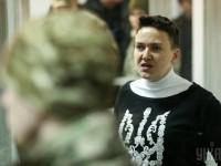 В квартире Надежды Савченко проводят обыск