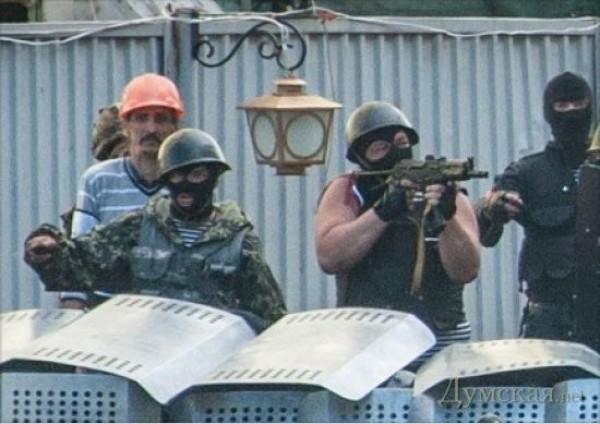 Автоматчики видели рядом с заместителем начальника УМВД Одесской области полковником Фучеджи