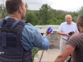 """""""Иди отсюда, оккупант хр...нов"""": украинец поскандалил с российским журналистом"""