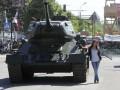 Луганские сепаратисты угнали советский танк (фото)