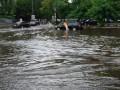 Мощный ливень превратил центр Днепра в море