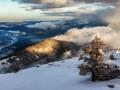 Сегодня в Карпатах начнется сильный снегопад