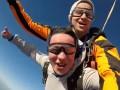 В Украине совершили первый тандем-прыжок с парашютом с воздушного шара