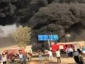 В Египте загорелась нефть на шоссе, есть жертвы