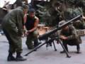 Боевики Моторолы показали, как они стреляют из жилых кварталов (видео)