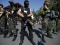 В городе Снежное растет количество вооруженных людей - ДонОГА