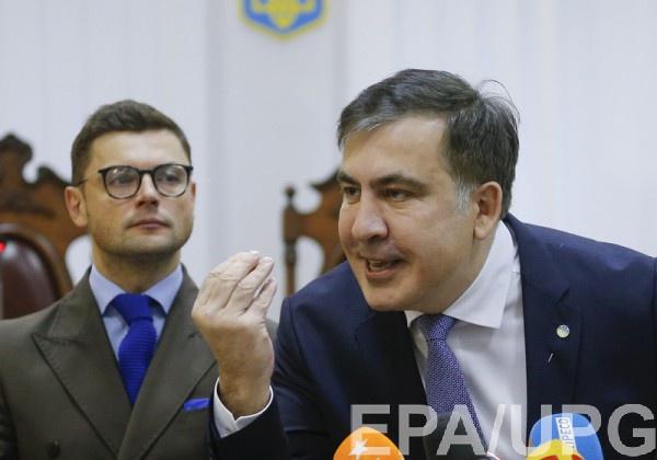 Саакашвили: Петя, кого ты ищешь? Ищи свою бабушку!