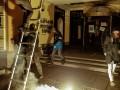В Москве радикалы РФ напали на Национальный культурный центр и сожгли флаг Украины