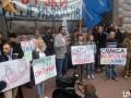 Под стенами СБУ митинговали недовольные ценами на автогаз