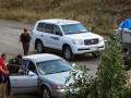 Наблюдатели ОБСЕ попали под обстрел в районе Зайцево