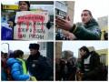 В Москве Антимайдан разогнал пикет против войны в Украине