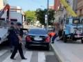В Днепре машину Филатова эвакуировали за неправильную парковку