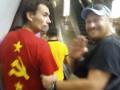 В Киевском метро раздели и