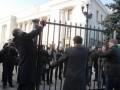 Киевские власти разобрались, кому принадлежит забор возле Рады