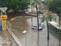 В затопленном ливнем израильском Ашкелоне рухнула автомагистраль