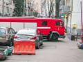 В центре Киева нашли почерневший труп и еле живого мужчину