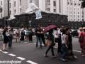 Митингующие под Радой разблокировали улицу Грушевского