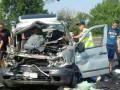 В Николаеве столкнулись микроавтобус и грузовик: трое погибших