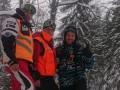 В Карпатах спасатели нашли четырех заблудившихся туристов
