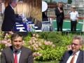 В Одессе посол США пообщался с Саакашвили и подарил морякам графин для виски