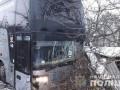 В Винницкой области столкнулись автобусы