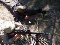 Как проходят учения снайперов на полигоне в Рени