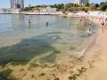 Ливень в Одессе: на Аркадии грязь била фонтаном из моря
