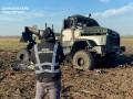 На Херсонщине взорвался грузовик с боеприпасами
