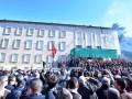 В Албании тысячи митингующих требовали отставки правительства