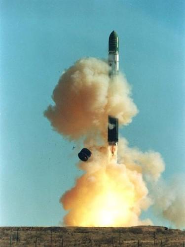 Ракета тяжелого класса Р-36М2 Воевода.