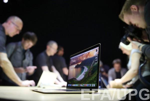 Всеть угодила фотография нового MacBook накануне до презентации
