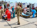 Раненых с Донбасса доставили самолетом в Одессу