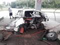 В Тернополе на заправке взрывом разорвало такси