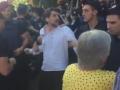 Под АП вкладчики Михайловского пытались прорвать кордон полиции