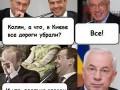 Белая горячка: Демотиваторы о киевском снегопаде