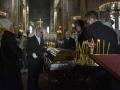 Прощание с Денисом Вороненковым во Владимирском соборе в Киеве